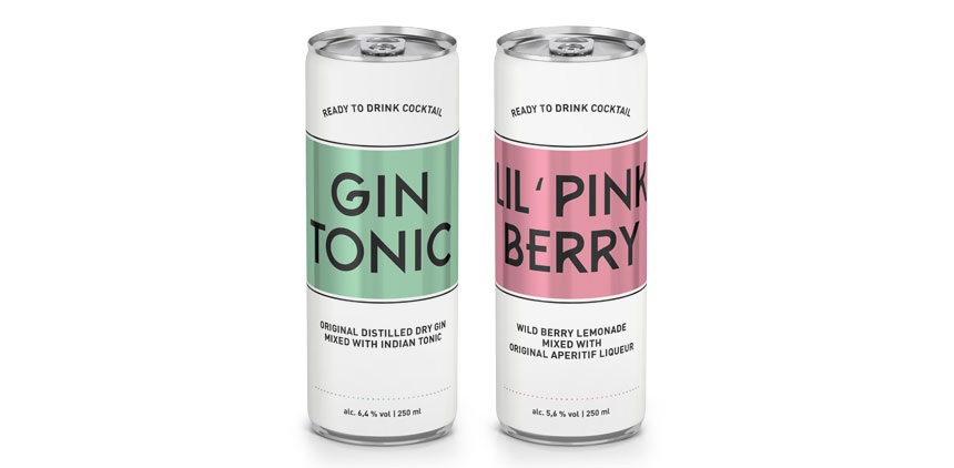 Gin Tonic & Lil Pink Berry